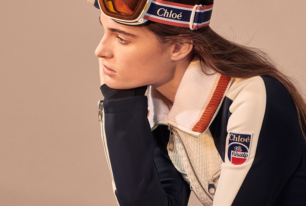 CHLOÉ AND FUSALP REVEAL A SKIWEAR CAPSULE