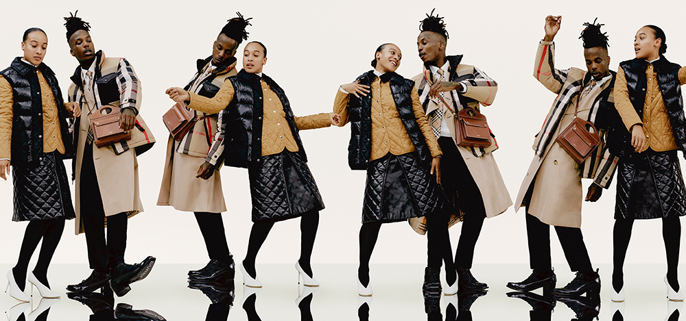 BURBERRY COLLABORATES WITH (LA)HORDE ON A NEW CAMPAIGN
