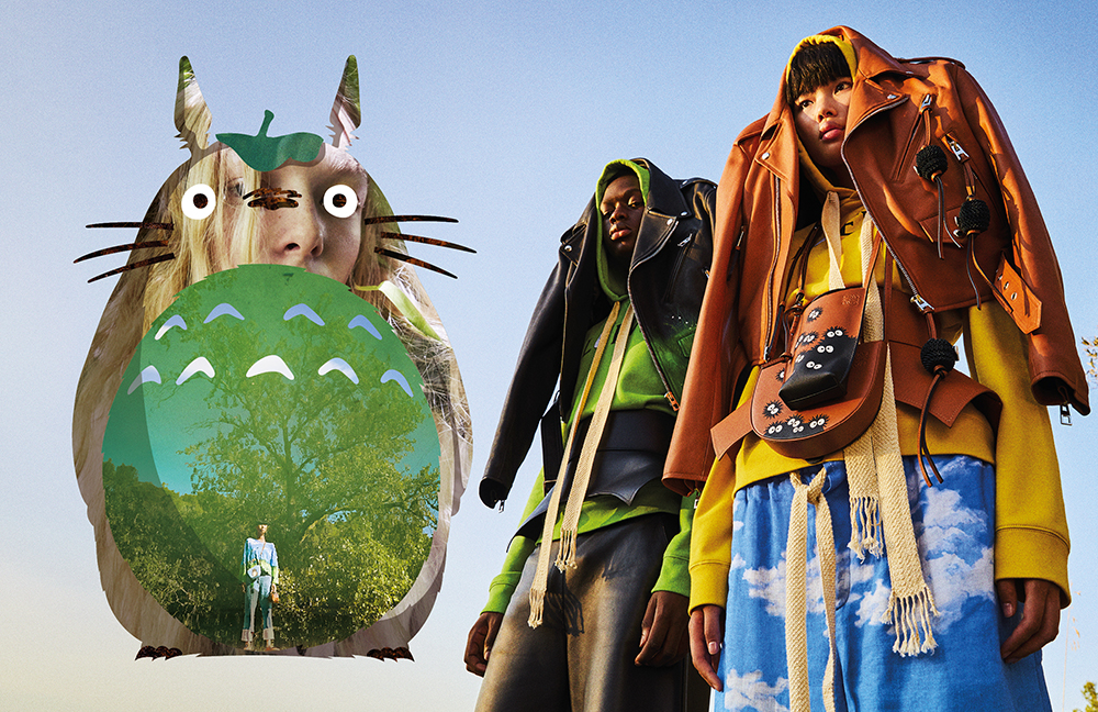 LOEWE PRESENTS A COLLECTION FEATURING TOTORO