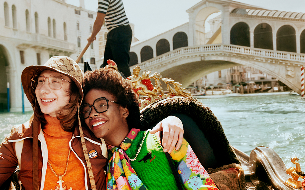 GUCCI PRESENTS THE S/S 2021 EYEWEAR CAMPAIGN