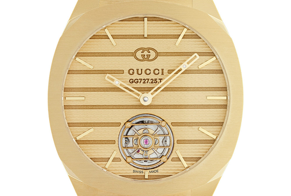 GUCCI LAUNCHES A HAUTE HORLOGERIE LINE