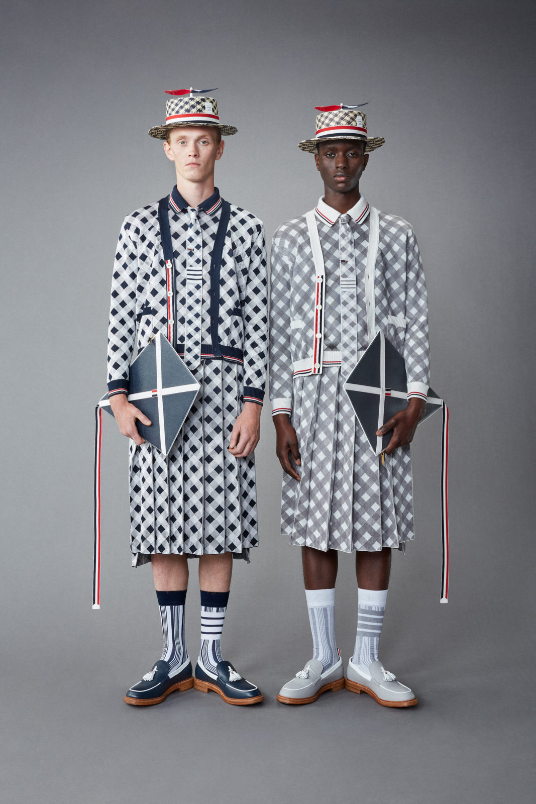 THOM BROWNE COLLECTION HOMME SPRING 1 2022