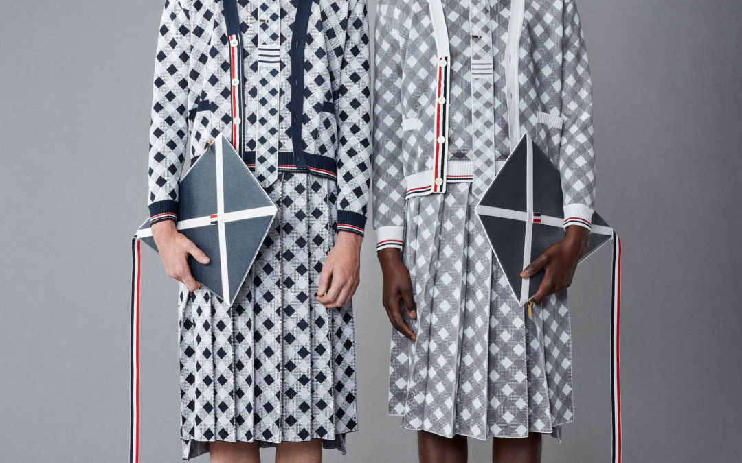THOM BROWNE SPRING 2022 MENSWEAR COLLECTION