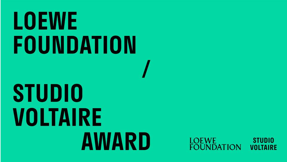 LOEWE FOUNDATION / STUDIO VOLTAIRE PRIZE
